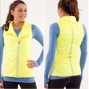 LULULEMON What The Fluff Vest Reversible Size 6